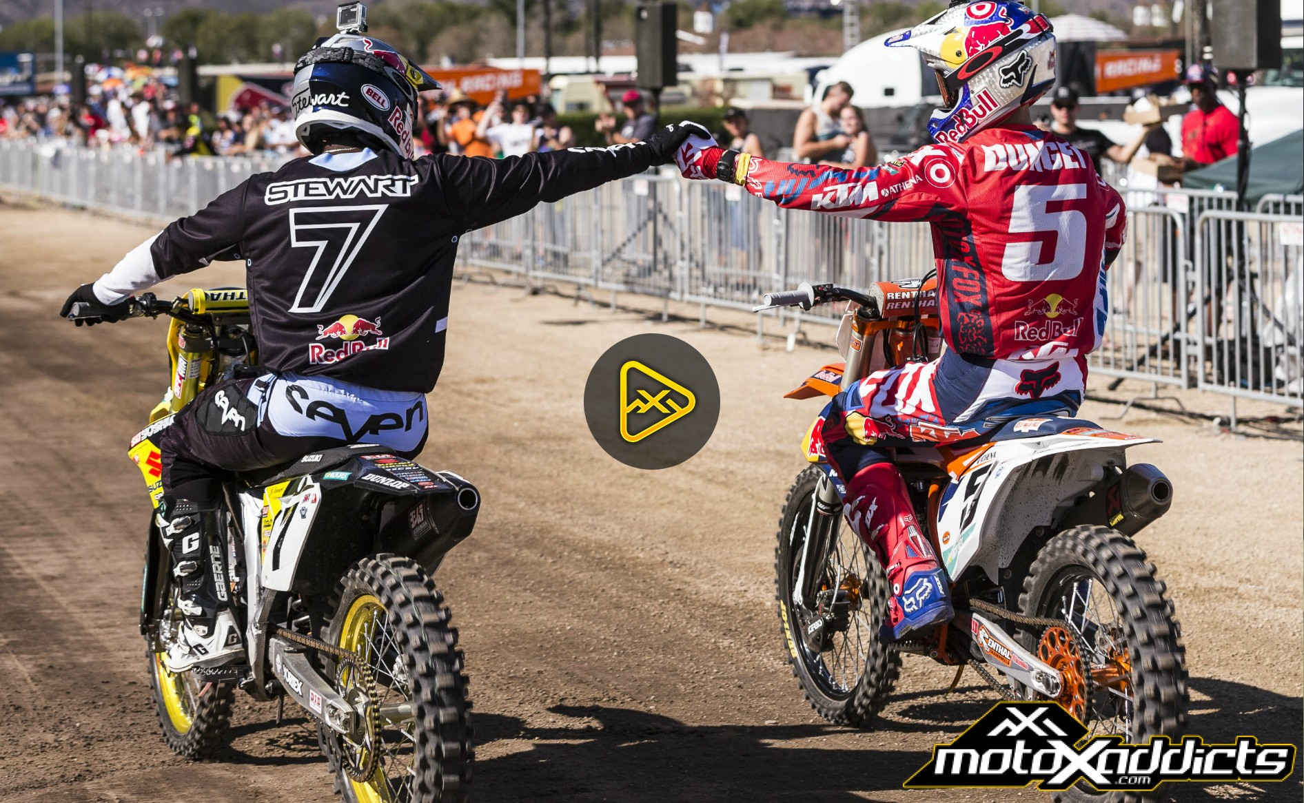 Flashback: James Stewart vs. Ryan Dungey – Red Bull Straight Rhythm