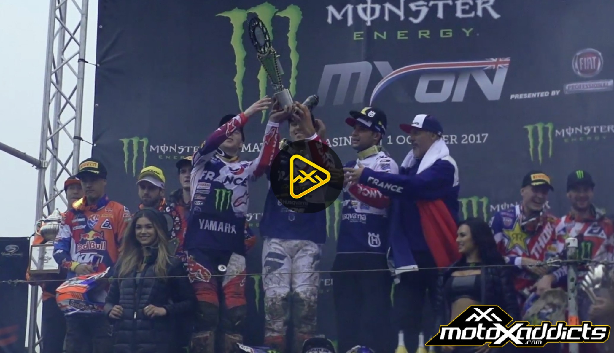 Relive the 2017 Motocross of Nations