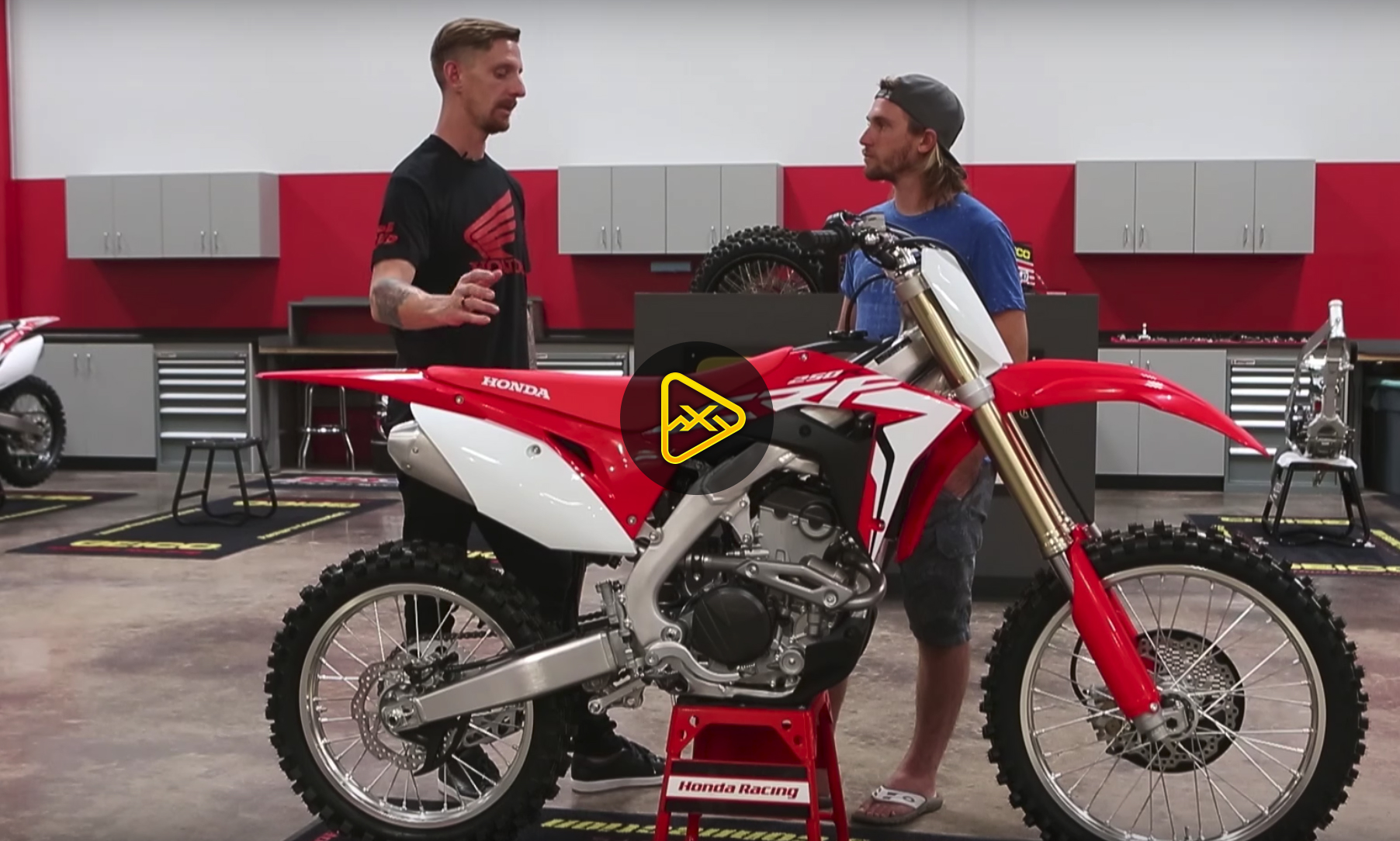 Walk-Around: Tech Brief on the 2018 Honda CRF250R