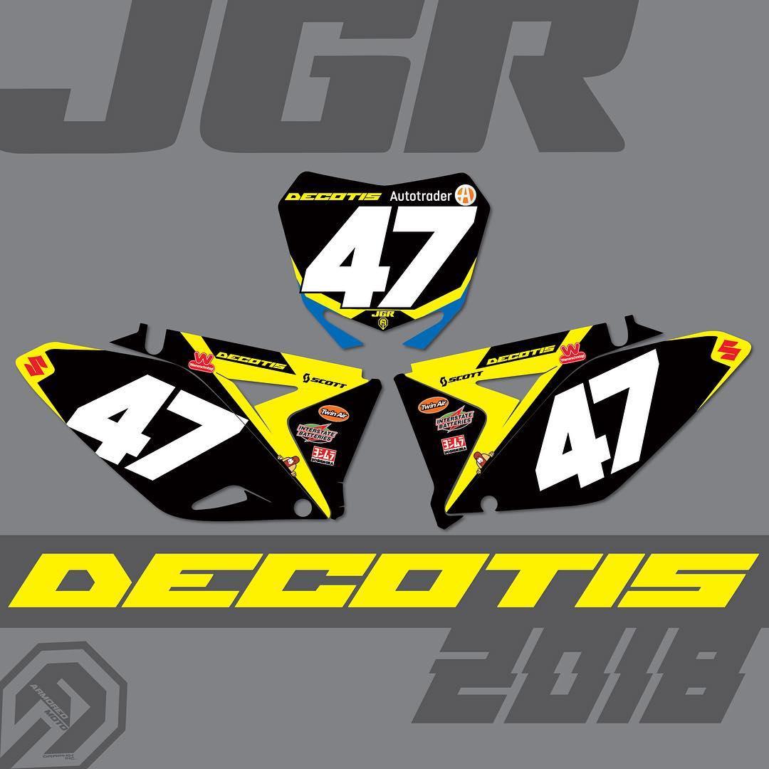 Jimmy Decotis Signs with JGRMX / Suzuki for 2018