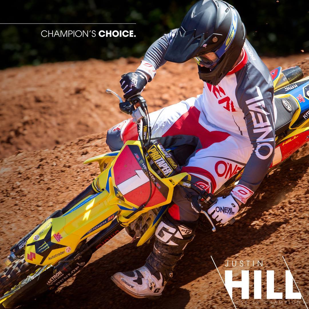 Justin Hill to ONeal Racing