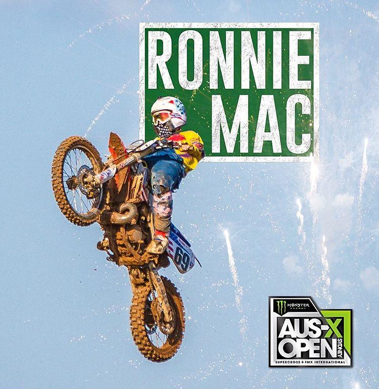 Ronnie Mac vs Ricky Carmichael at 2017 AUS-X Open