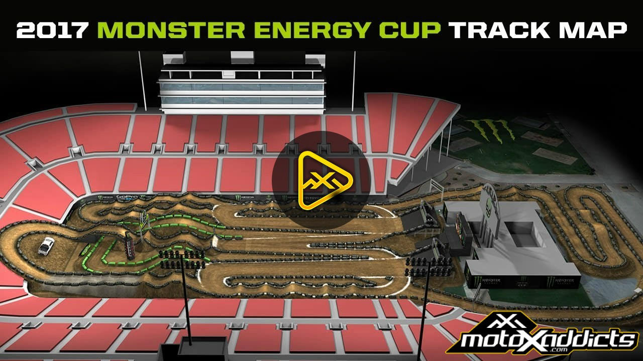 2017 Monster Energy Cup Track Map