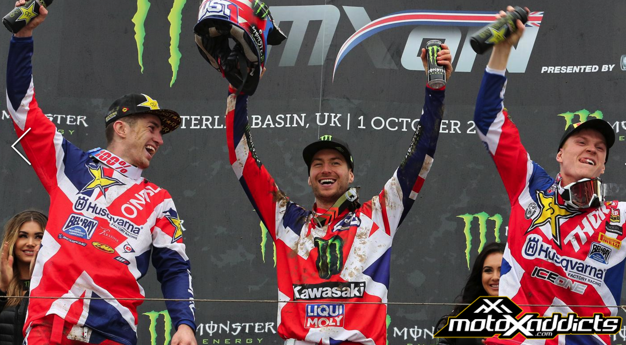 """Bronze medal for Tommy Searle at the """"Nations"""""""