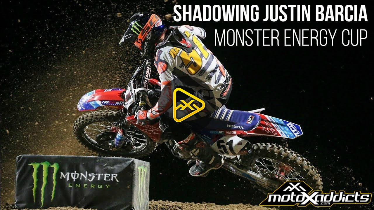 Shadowing Justin Barcia – 2017 Monster Energy Cup