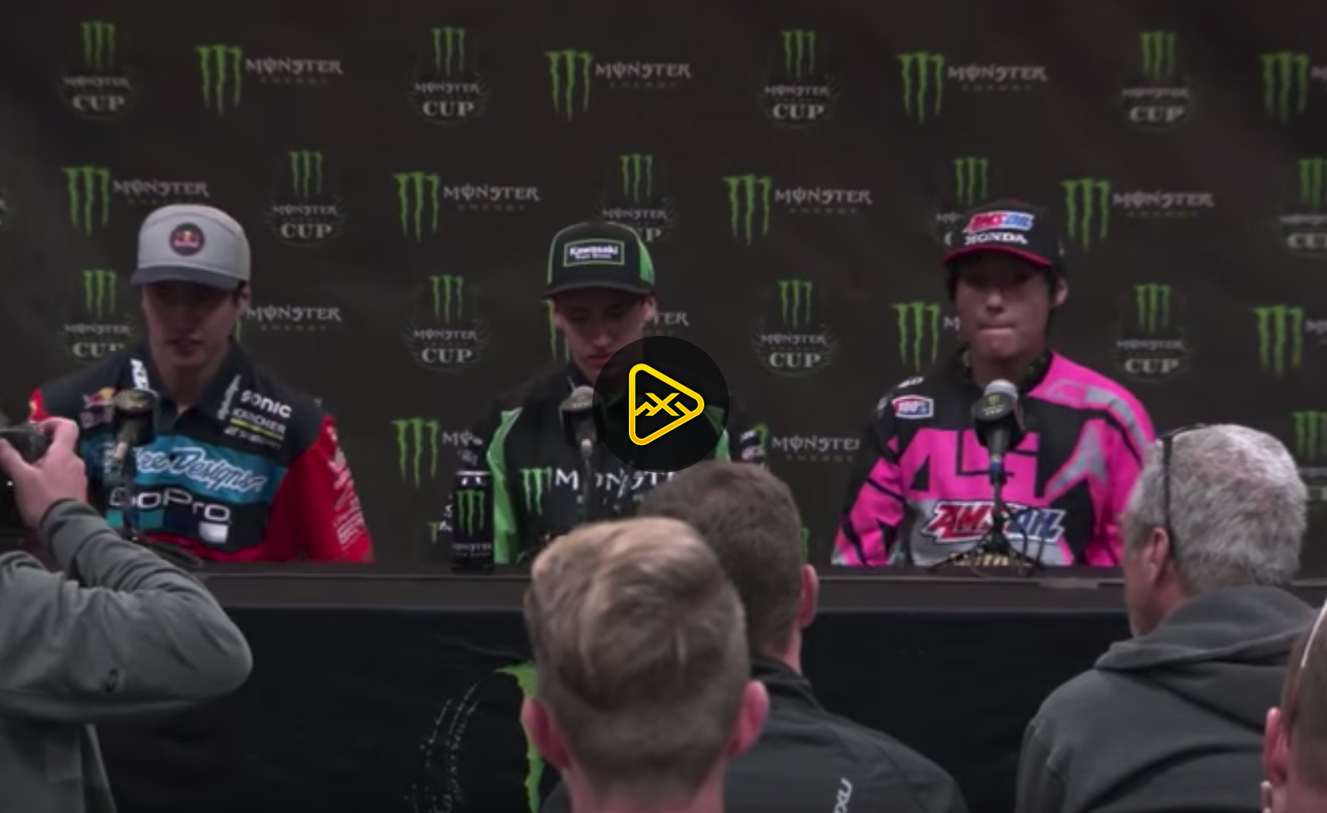 Amateur All-Stars Podium Interviews – 2017 Monster Cup