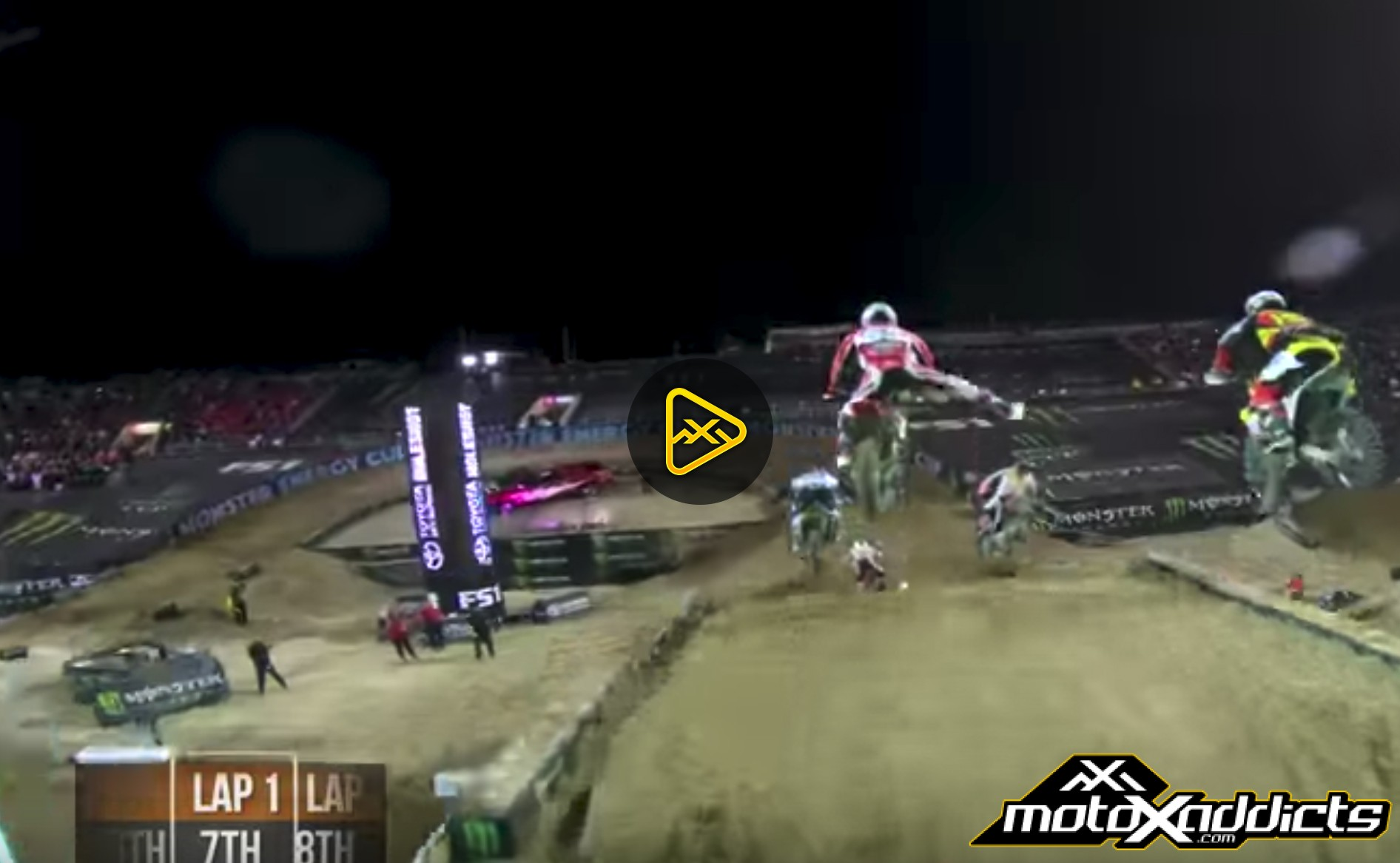 Helmet Cam: Jordon Smith Main Event at Monster Energy Cup