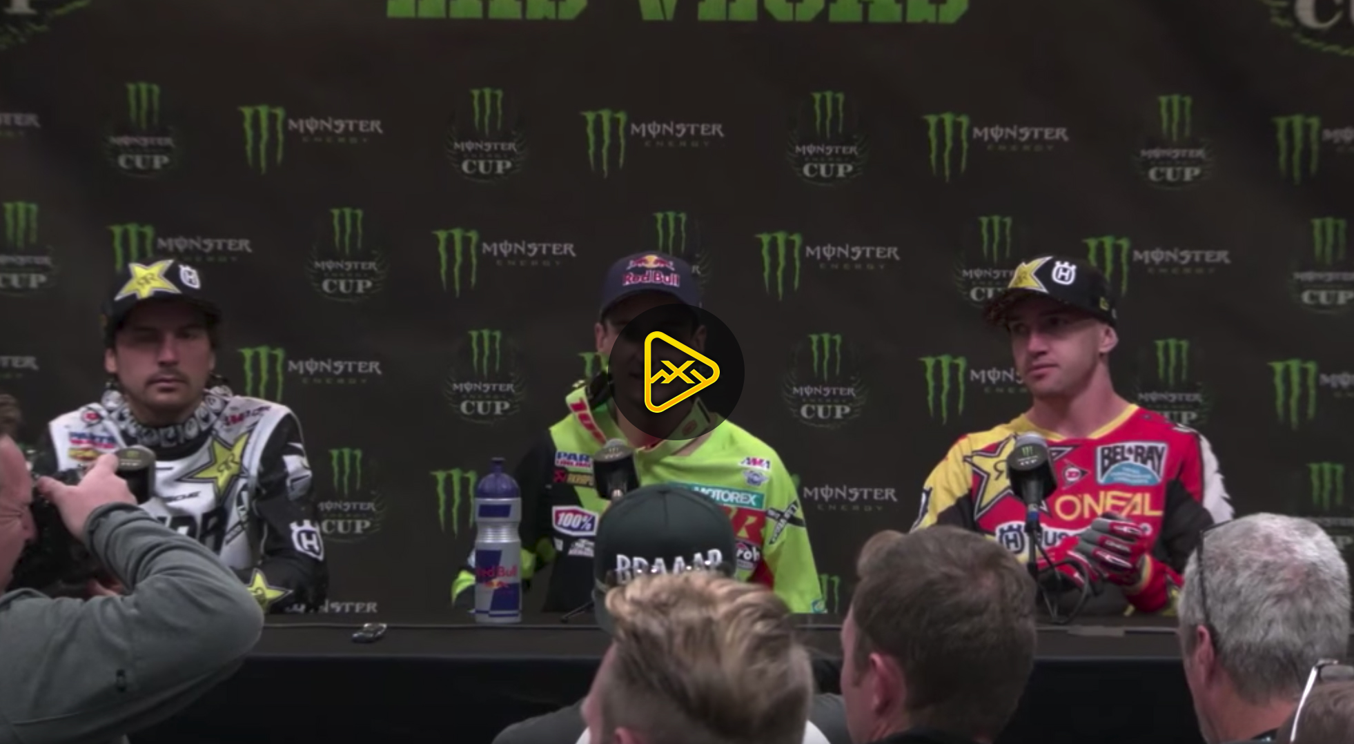 Musquin, Anderson & Wilson Interviews – 2017 Monster Cup