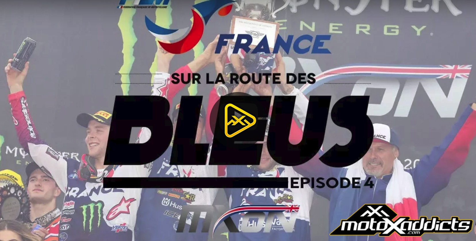 On the road to the Blues: BHS with Team France at MXoN