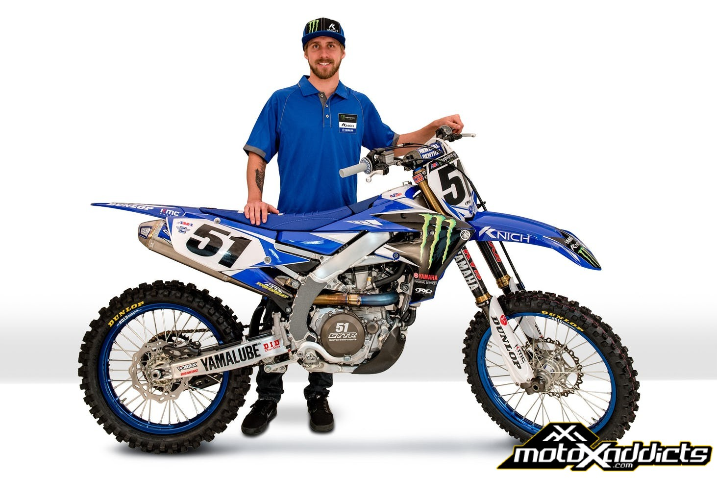 Justin Barcia Signs with Factory Yamaha to Fill in