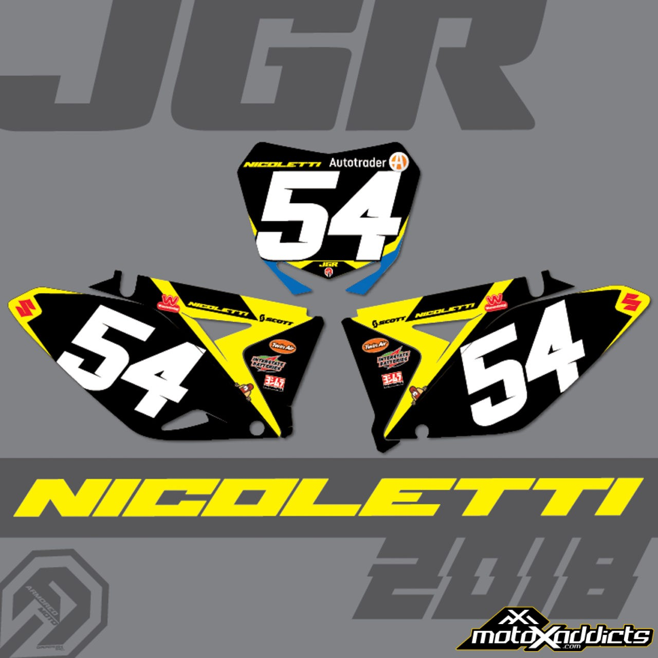 Phil Nicoletti Re-Signed by JGRMX / Suzuki