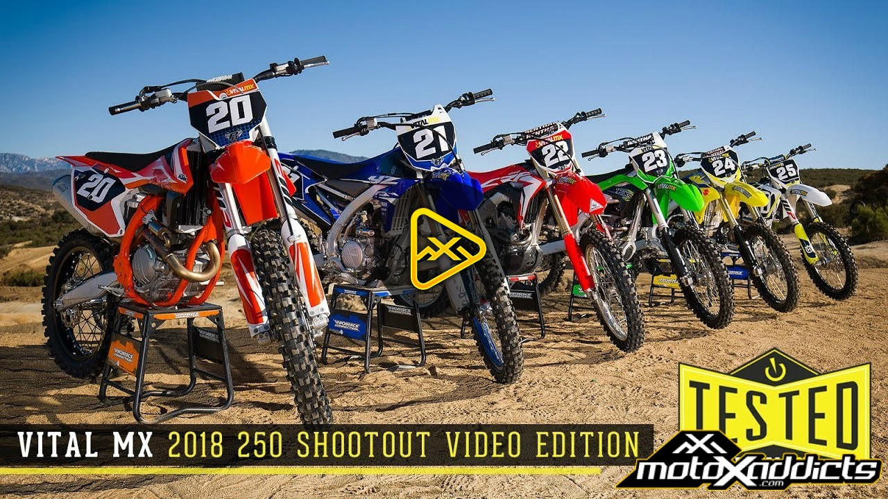 2018 Vital MX 250 Shootout