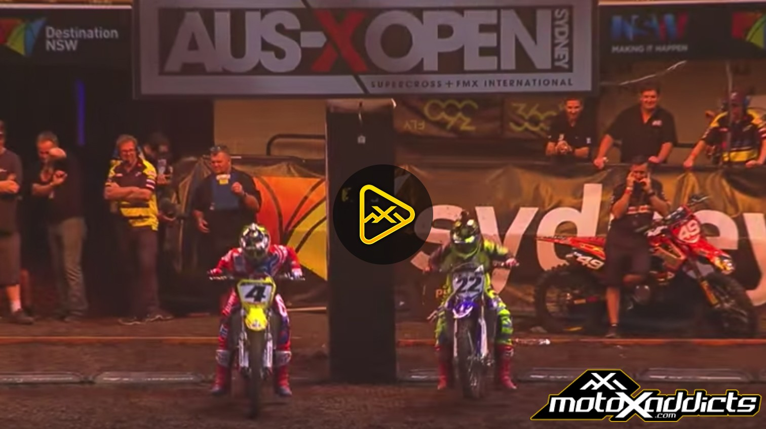 Flashback: Chad Reed vs Ricky Carmichael at AUS-X Open