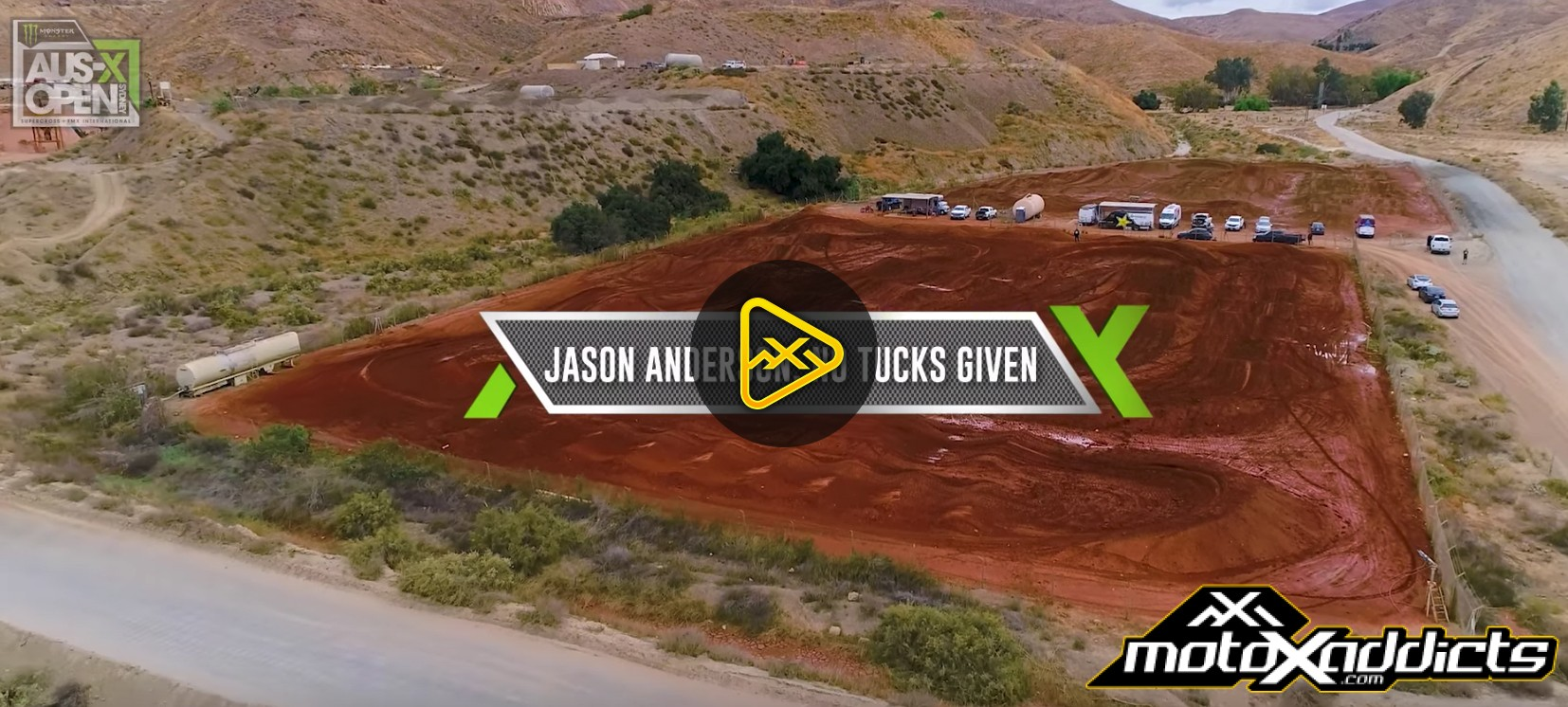 Jason Anderson: No Tucks Given | The Road To AUS-X Open