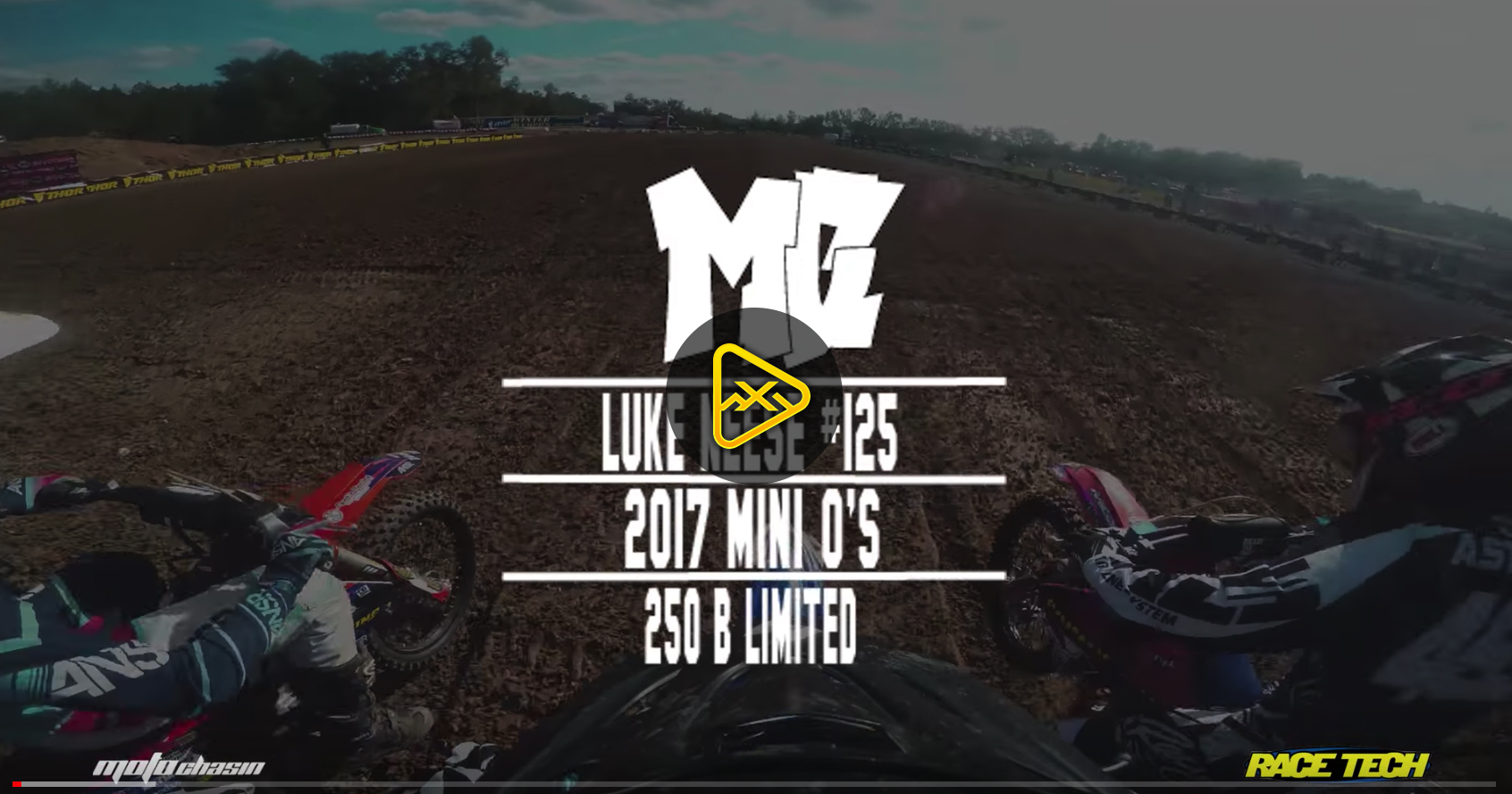 Helmet Cam: Luke Neese in 250 B Limited at Mini O's