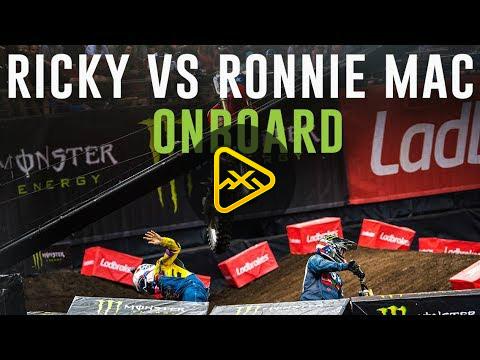 Helmet Cam: Ronnie Mac vs. Ricky Carmichael