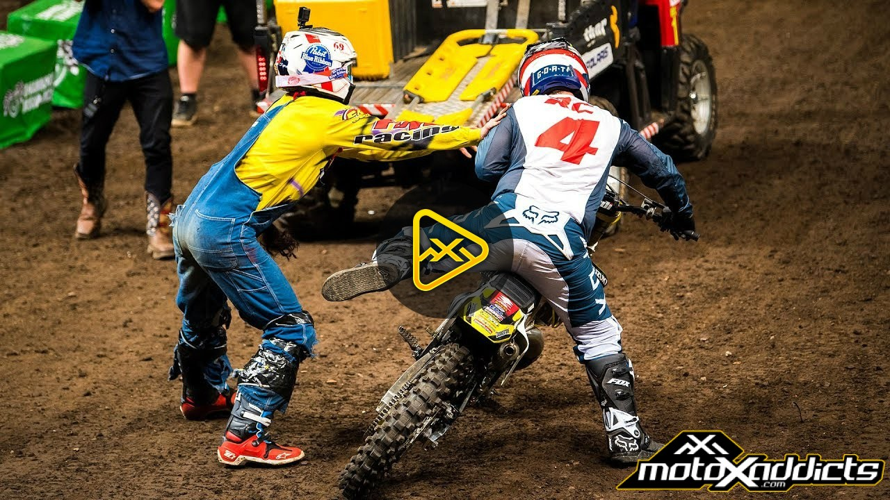 Full Race – Ronnie Mac VS Ricky Carmichael | AUS-X Open Sydney