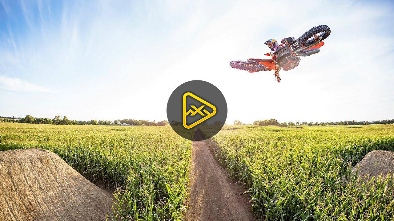Ryan Dungey On Secret Cornfield Track. | Homegrown 4k