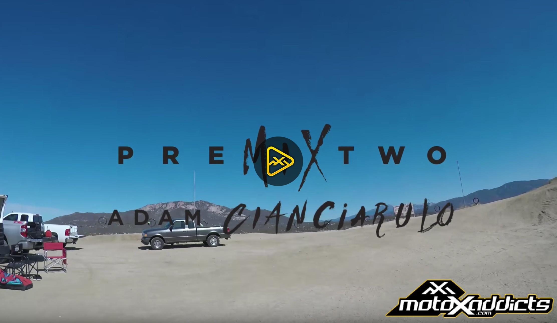 Adam Cianciarulo on KX125| Premix 2 GoPro