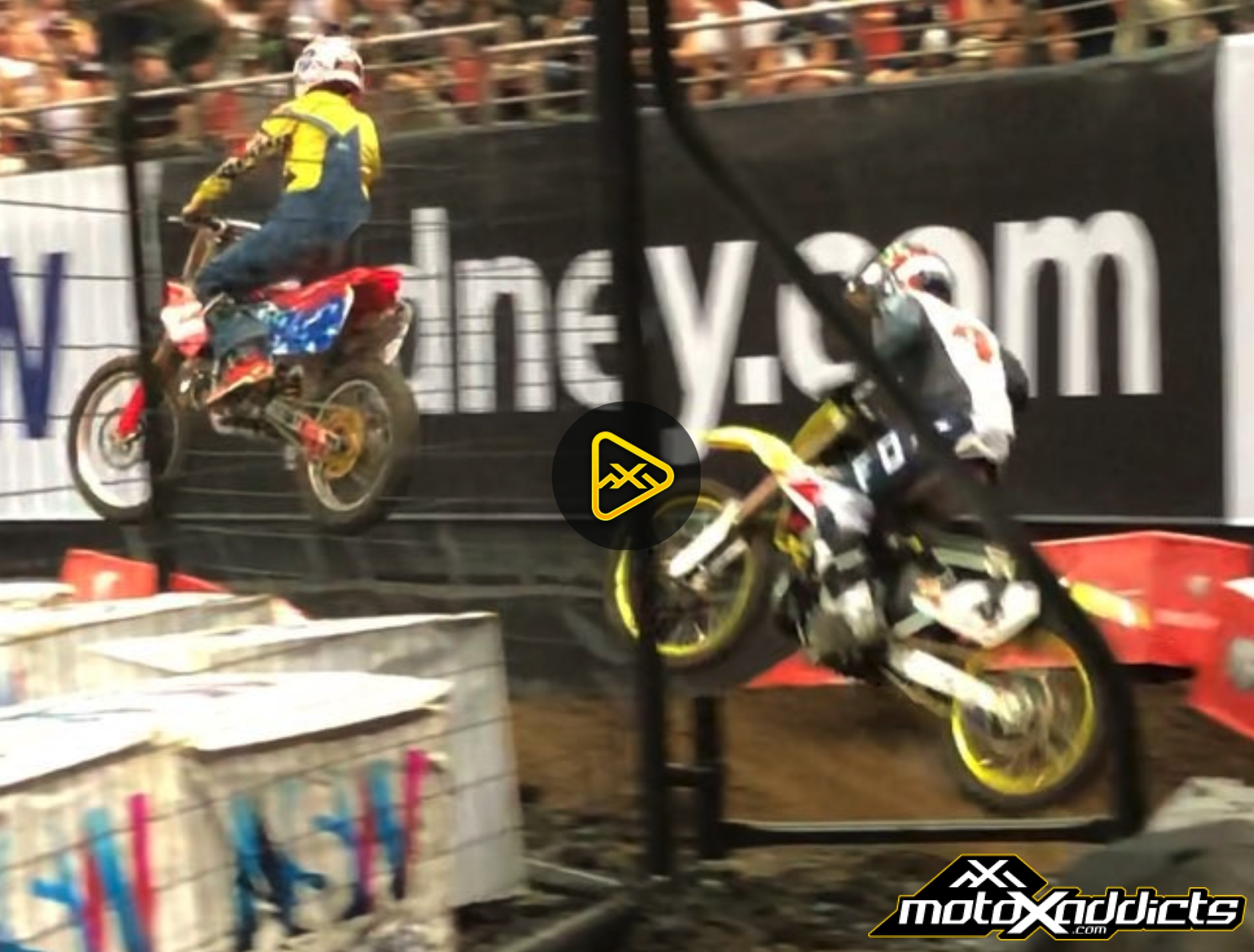 Ronnie Mac Ghost Ride at AUS-X Open