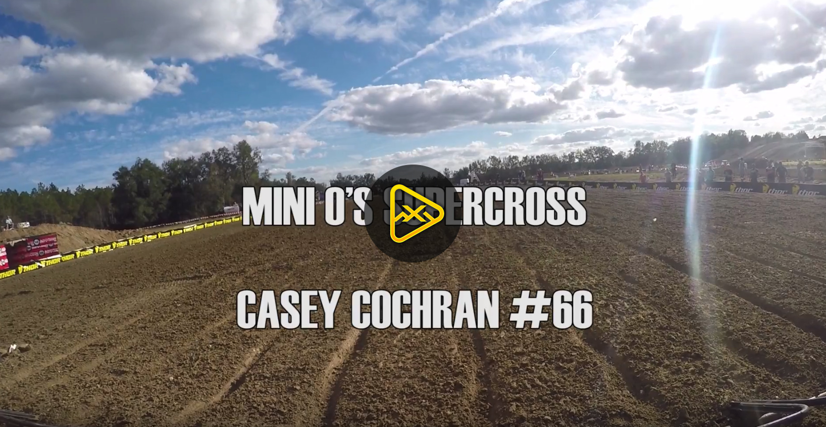 Helmet Cam: Mini Ripper Casey Cochran at Mini O's
