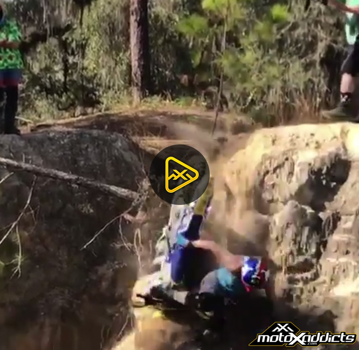 Travis Pastrana Crash – Breaks Wrist