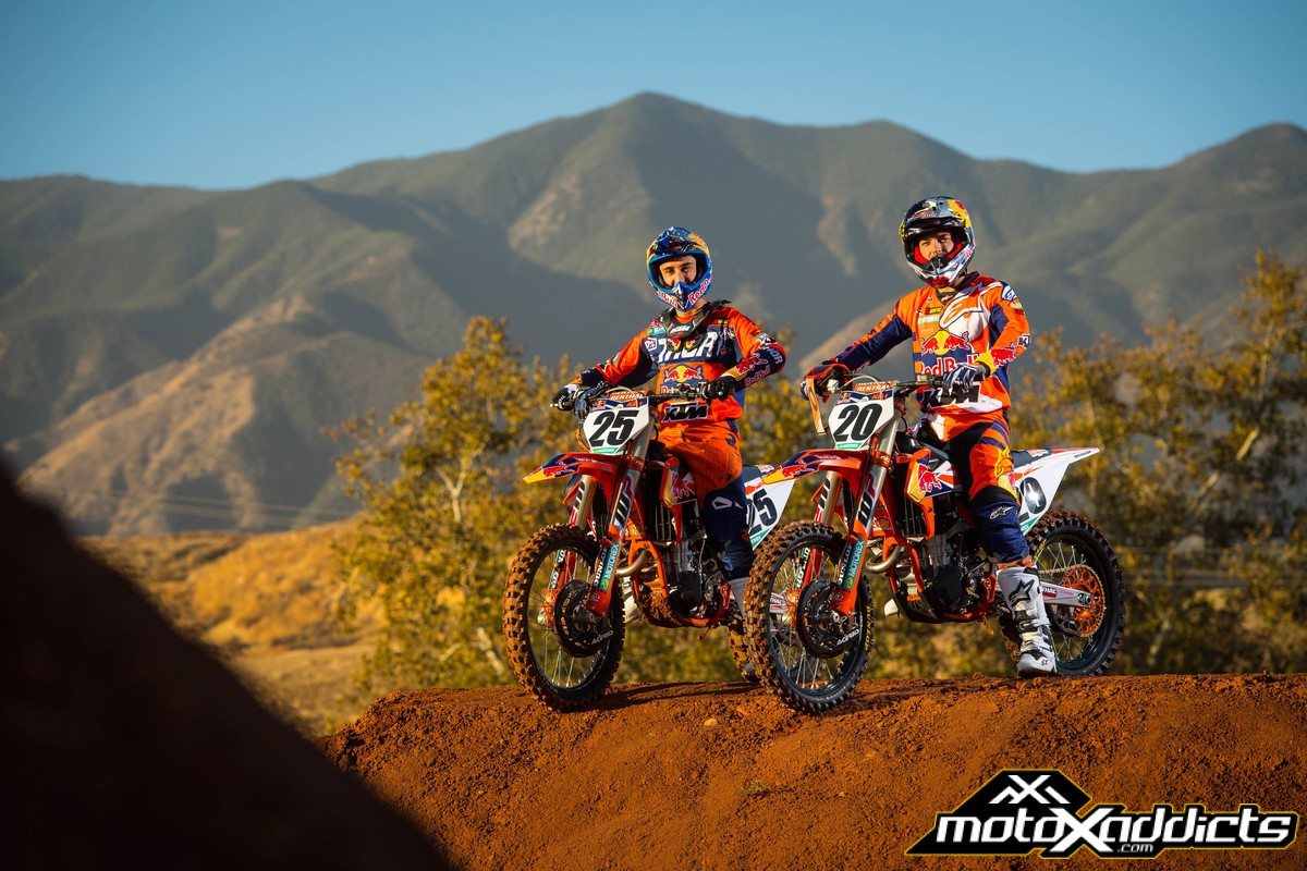 ... Dungey now retired KTM now hopes either Marvin Musquin or Broc Tickle can keep the title under their tent. Check out KTMu0027s 2018 photo gallery featuring ... & MotoXAddicts   Photo Fix: 2018 Red Bull KTM 450 Gallery
