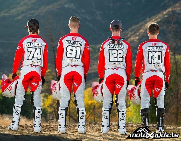 JMC Motorsports Racing 2018 SX Team Roster