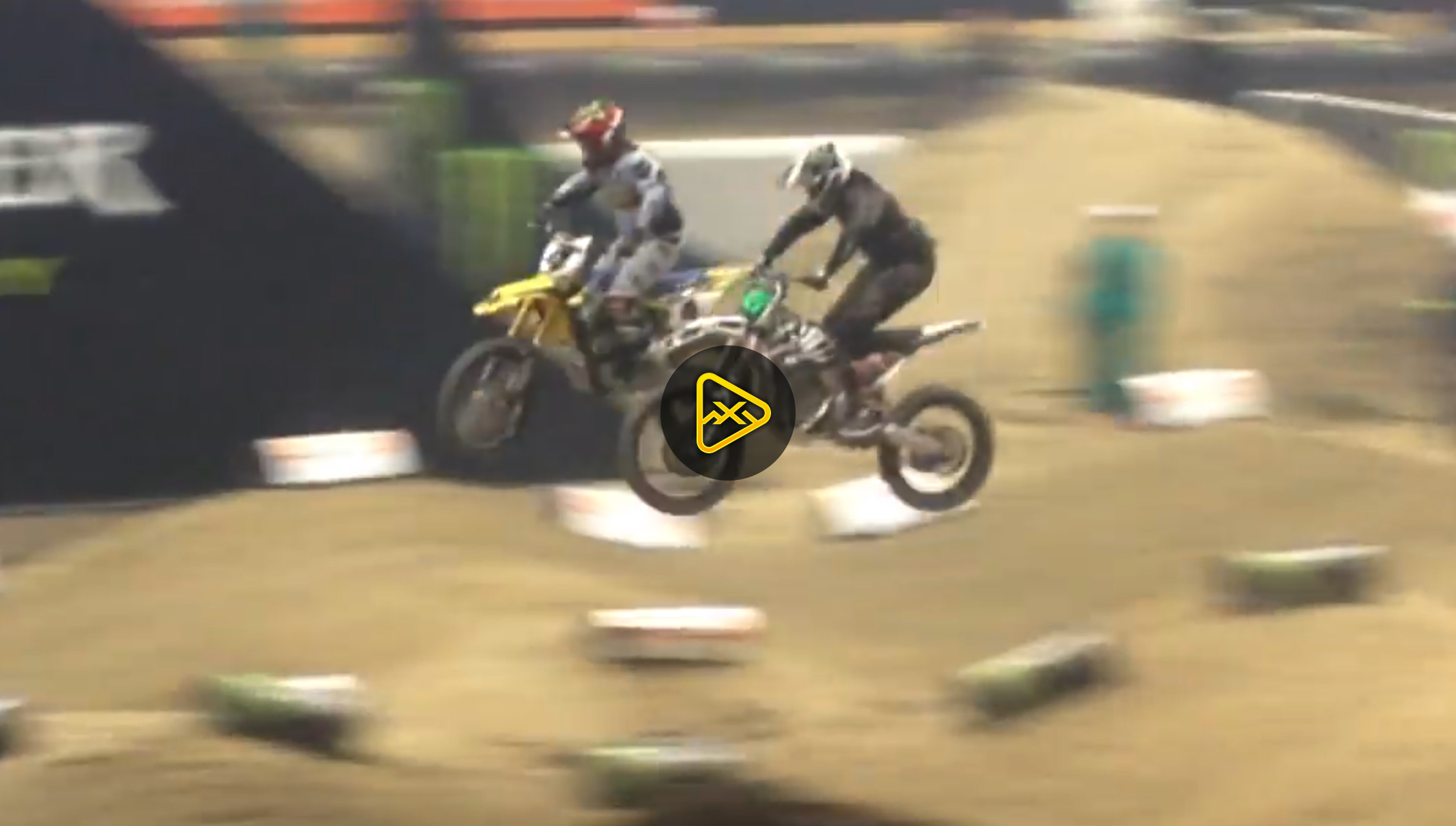 Ricky Carmichael vs. Josh Hill on Alta Electric – Geneva SX