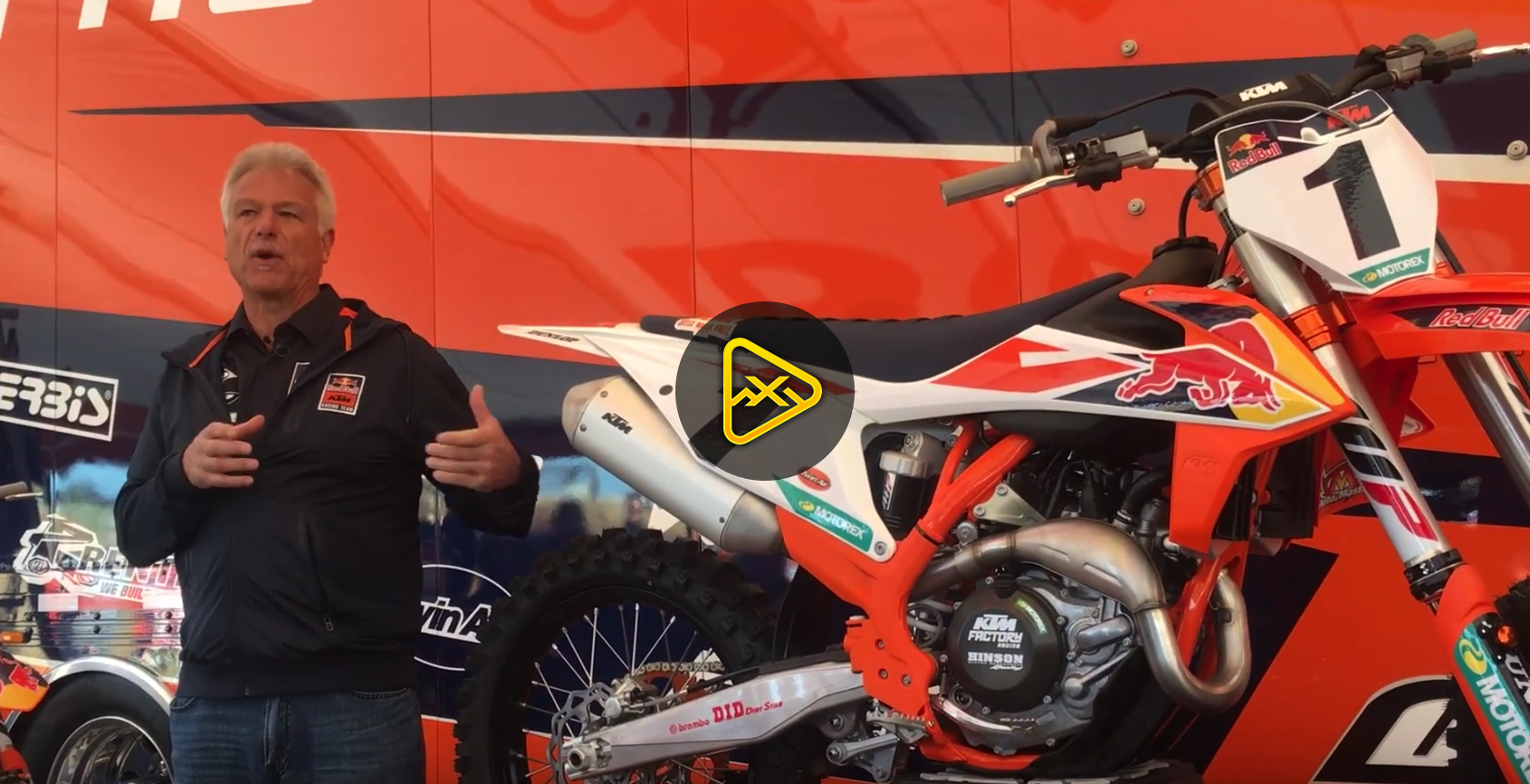Press Launch Video: 2018/2019 KTM 450 SX-F Factory Edition