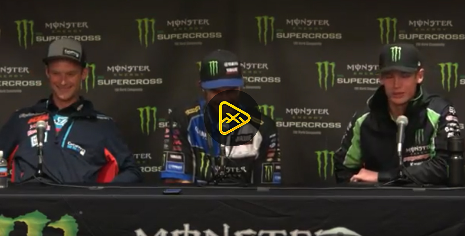 250SX Press Conference – 2018 Glendale SX