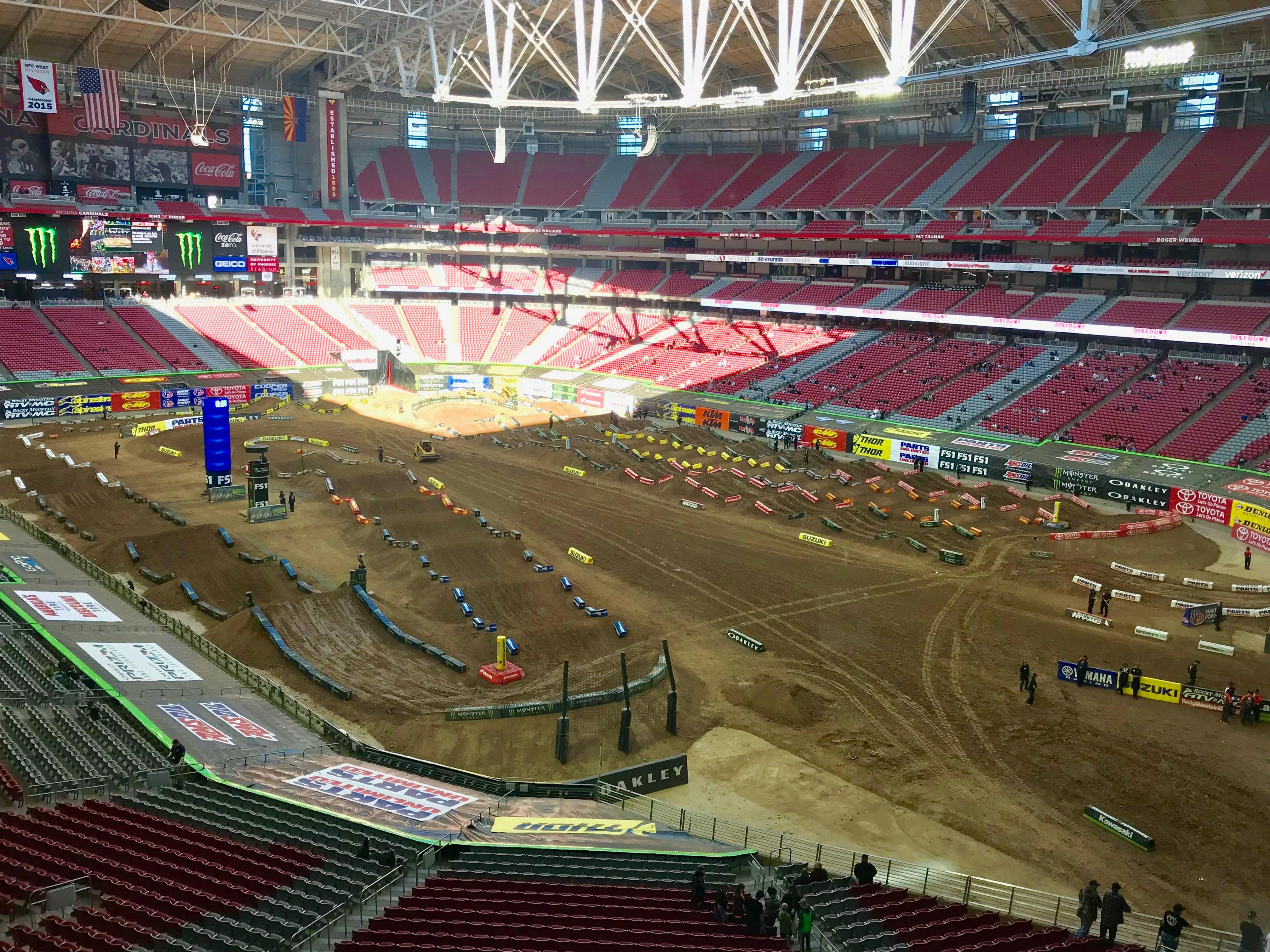 Qualifying Report: 2018 Glendale SX