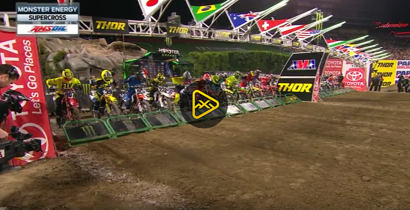 450SX Main Event Highlights – 2018 Anaheim 2 SX