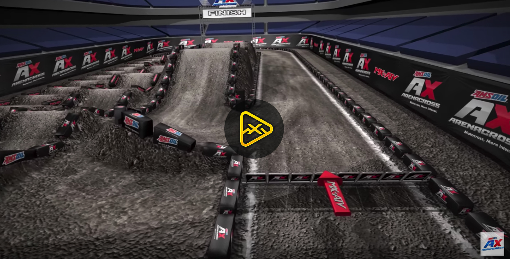 2018 Wilkes-Barre AX Animated Track Map