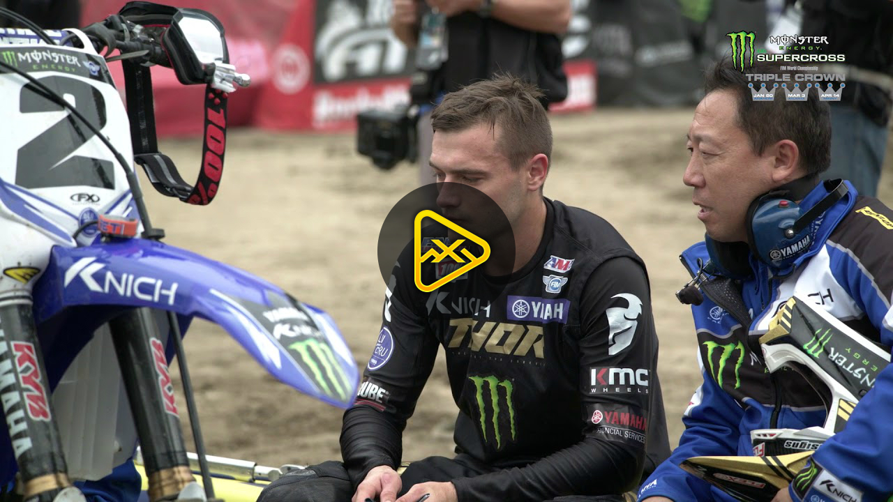 Cooper Webb Interview – 2018 Anaheim 2 SX