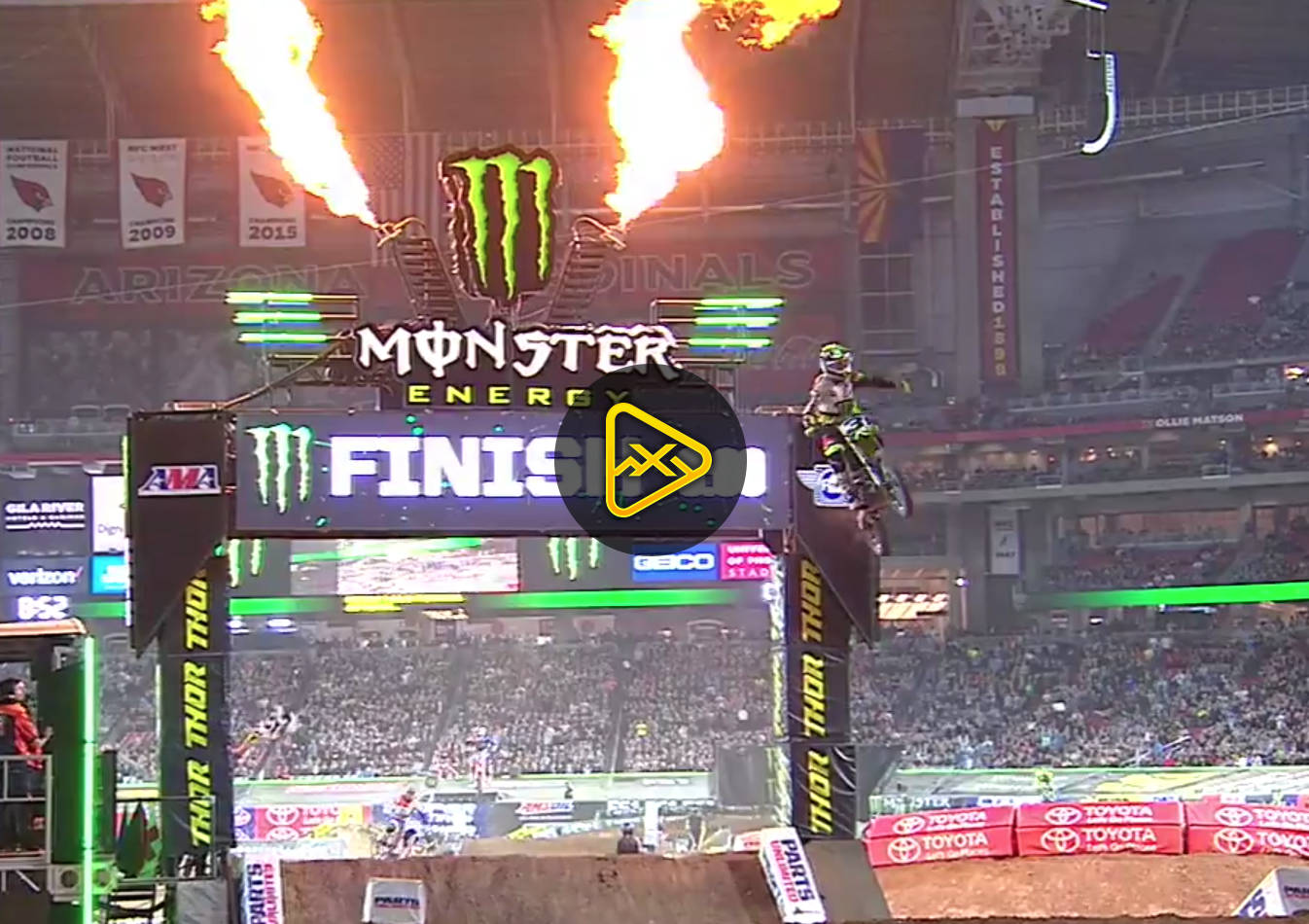 450SX Main Event Highlights – 2018 Glendale SX