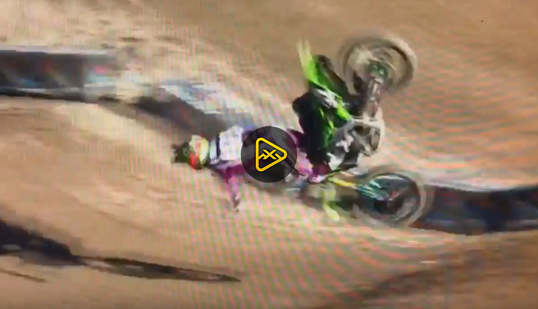 Adam Cianciarulo Crash Video & Injury Update