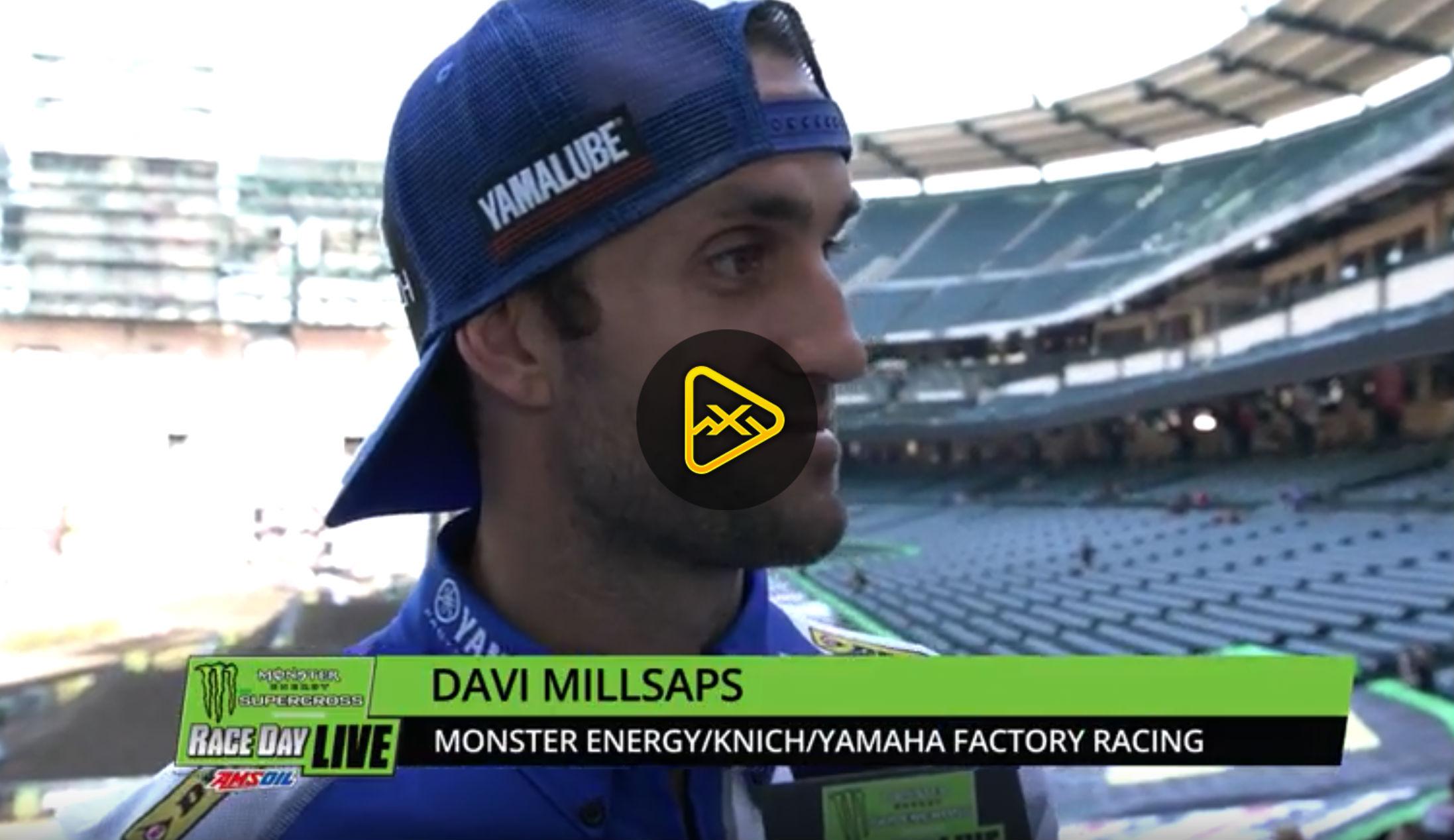 Davi Millsaps Interview – 2018 Anaheim 1 SX