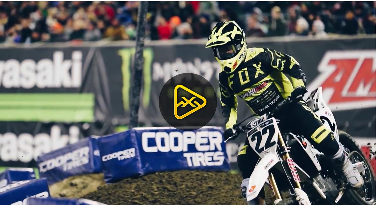 Follow Chad Reed BHS at 2018 Anaheim 2 SX