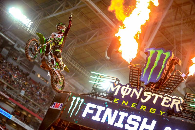 Tomac and Plessinger Win at 2018 Glendale SX