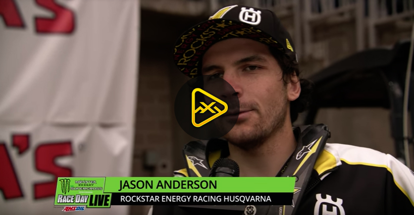 Jason Anderson Interview – 2018 Houston SX