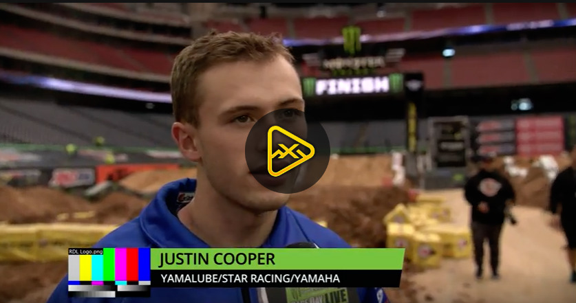 Justin Cooper Interview – 2018 Houston SX