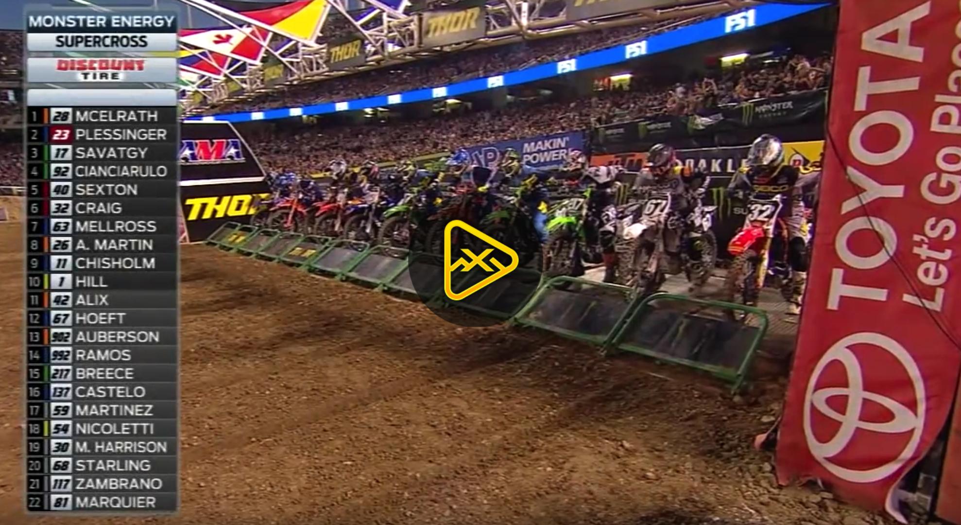250SX Main Event Highlights – 2018 Oakland SX