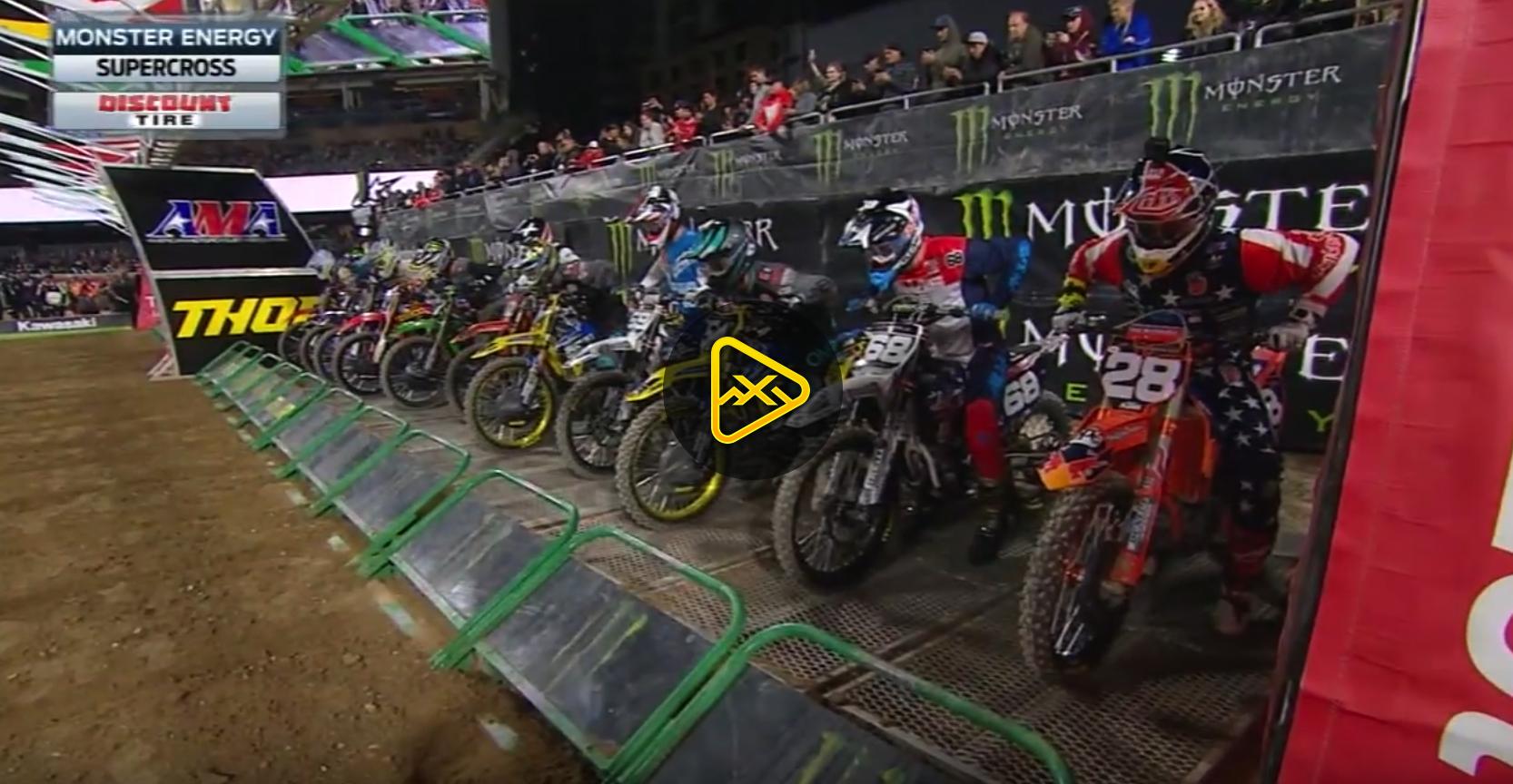 250SX Main Event Highlights – 2018 San Diego SX