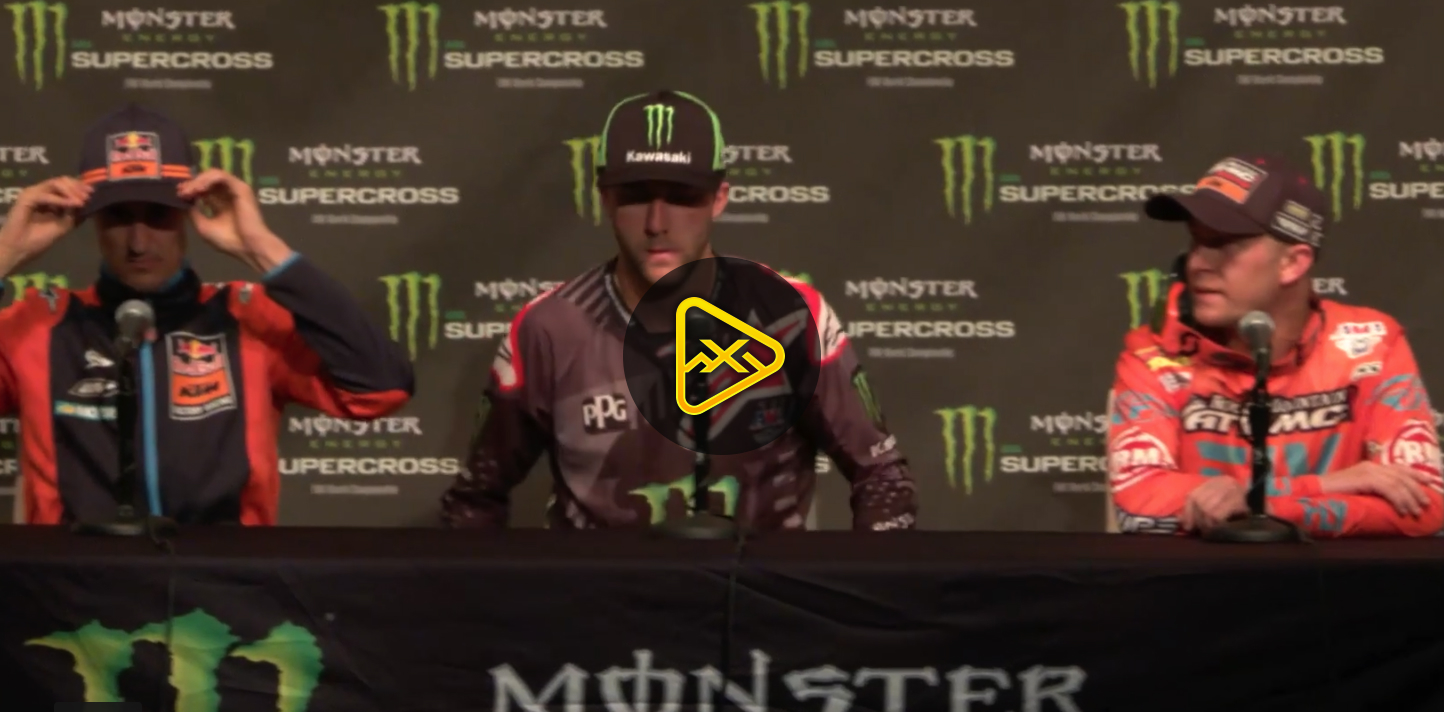 450SX Press Conference – 2018 Arlington SX