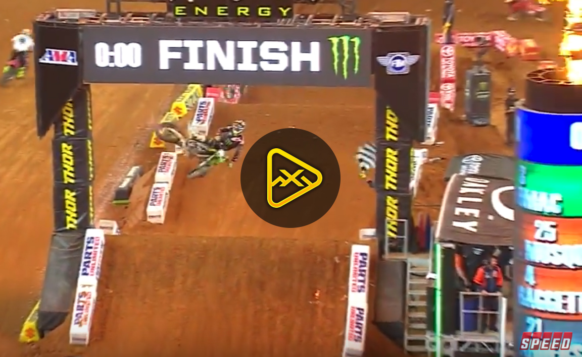 450SX Main Event Highlights  – 2018 Arlington SX