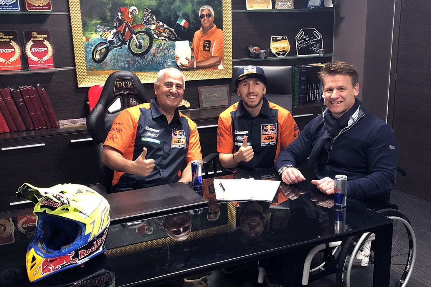 Antonio Cairoli Extends Contract with Red Bull KTM MXGP