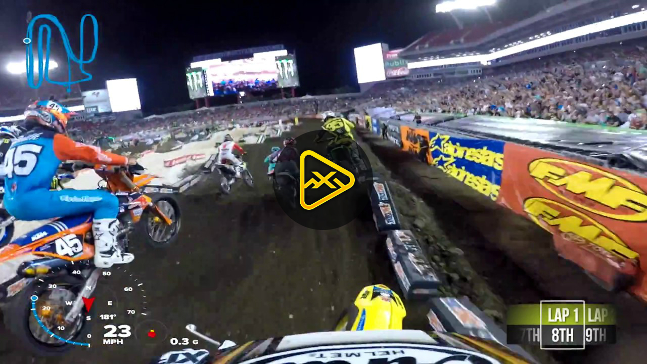 GoPro: Kyle Peters' Main Event at 2018 Tampa SX