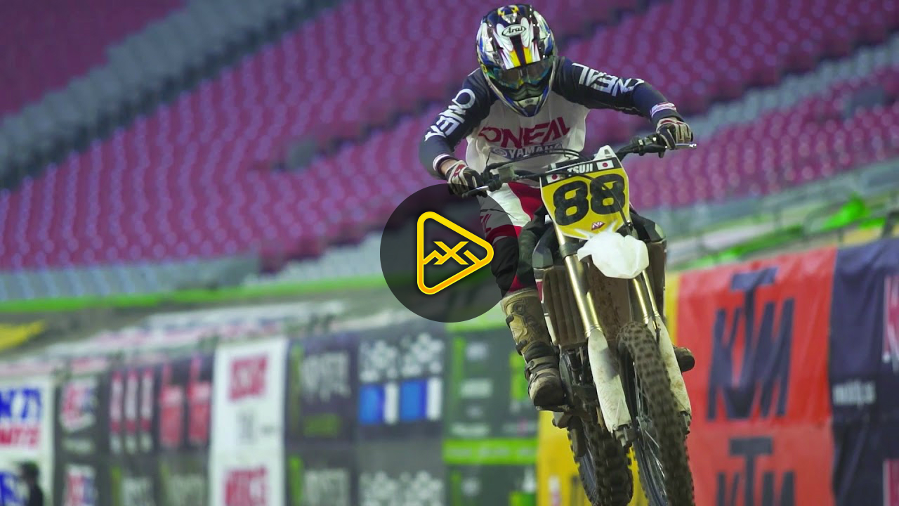 Jim Holley Racing Amateur Day at Glendale SX