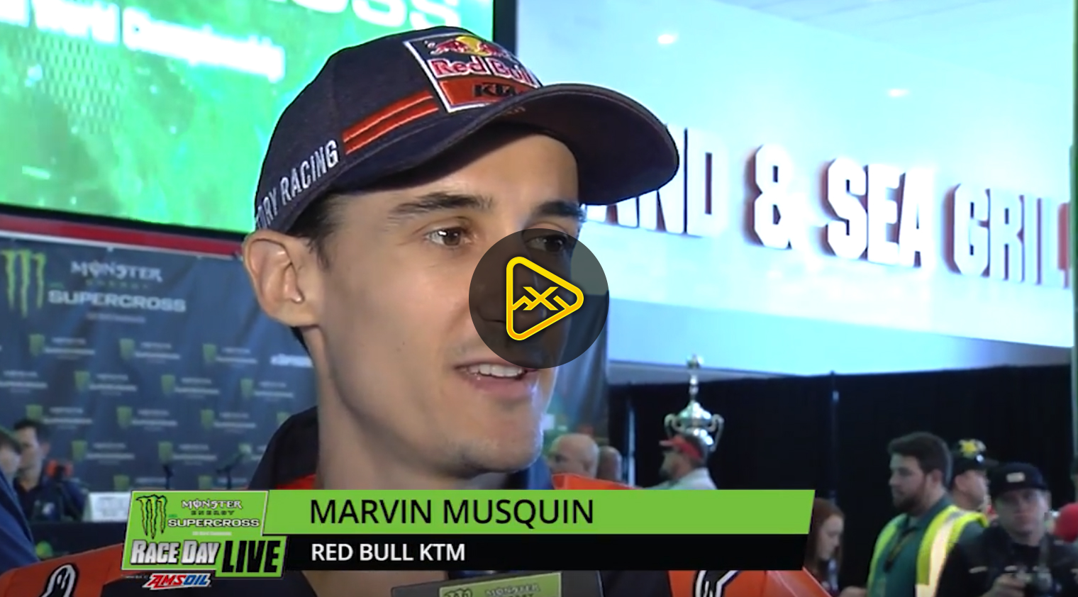 Marvin Musquin Interview – 2018 Tampa SX